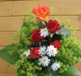 Kytice z našich růží, kopretiny Česká píseň, kontryhele a listů bohyšky